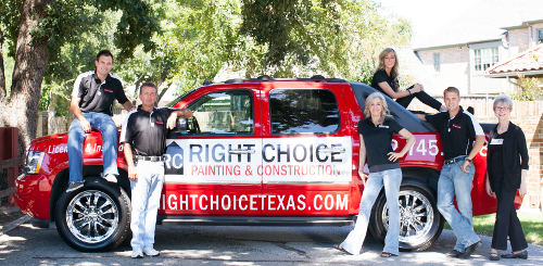 Right Choice Painting Amp Construction Dfw Dallas